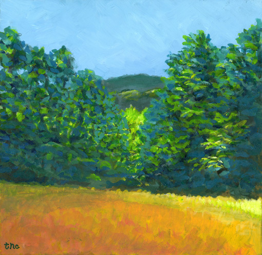 Acrylic Painting | en pleinair  landscape | Artwork | Asheville, NC