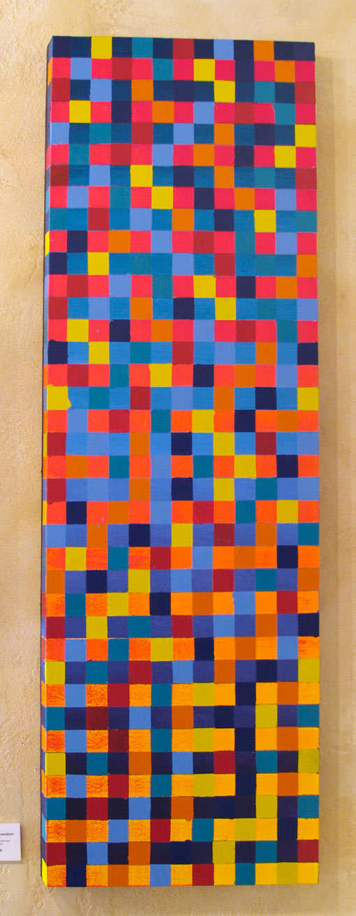 """Mensa Convention • Gallery Wrap 16x48"""" • Original Acrylic Painting on Canvas"""