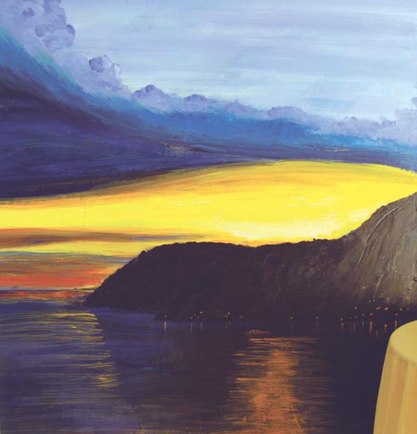 "Zihua • Framed 54x54"" • Original Acrylic Painting on Board"