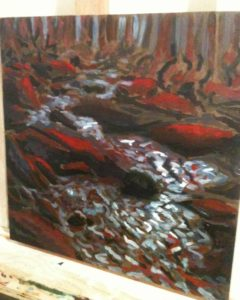 bubbling-trail-underpainting